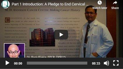 Pledge To End Cervical Cancer 2