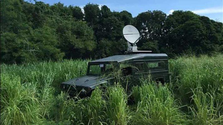 Satellite internet delivering telehealth service