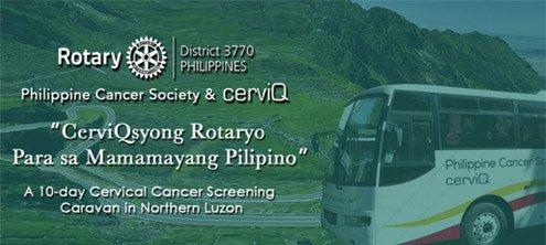 CerviQ syo Rotaryo Para sa Mamamayang Pilipino