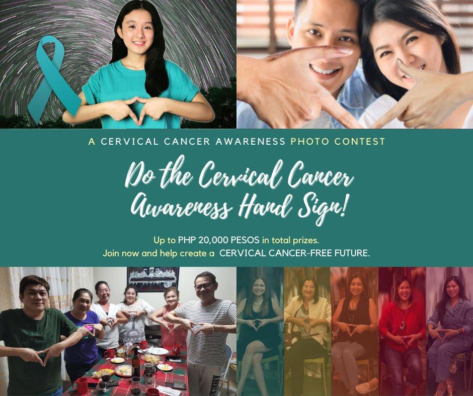 CerviQ Hand Sign Signifying Elimination of Cervical Cancer 1