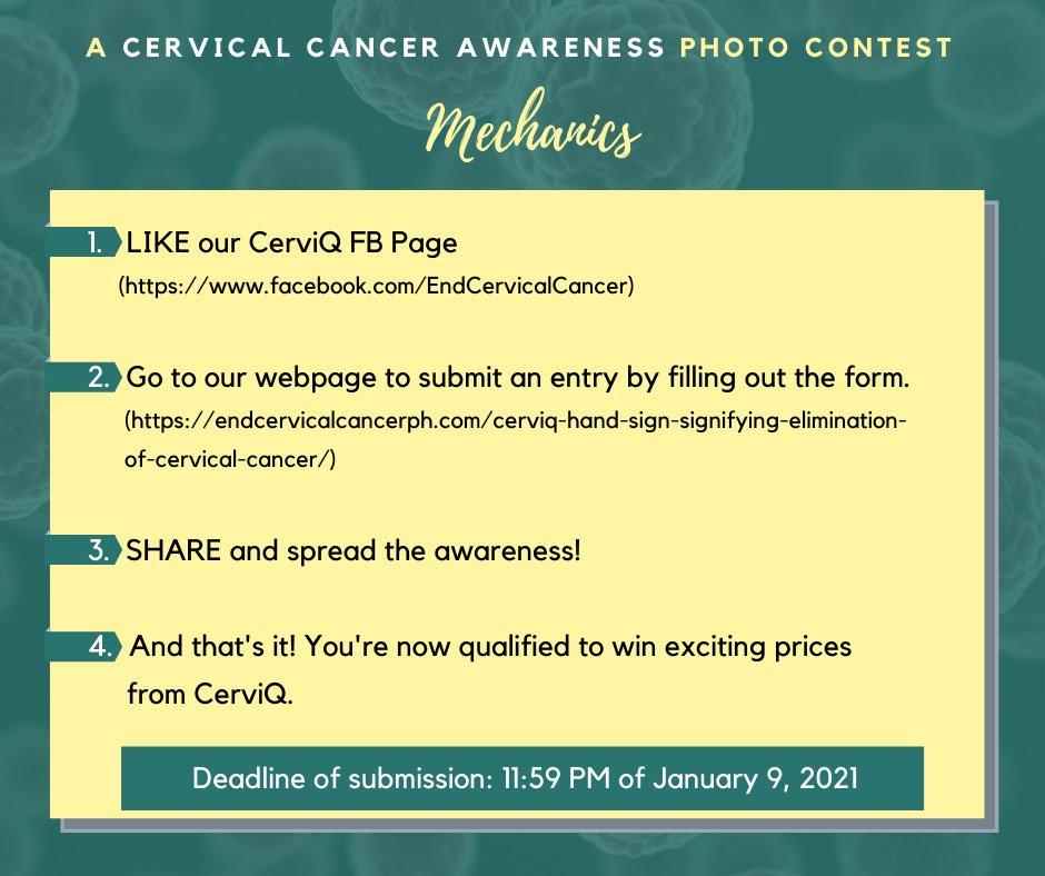 CerviQ Hand Sign Signifying Elimination of Cervical Cancer 2