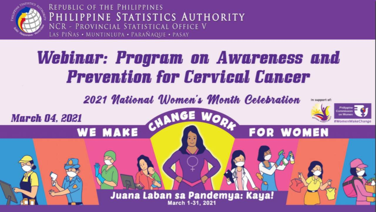 CERVICAL CANCER WEBINARS 4