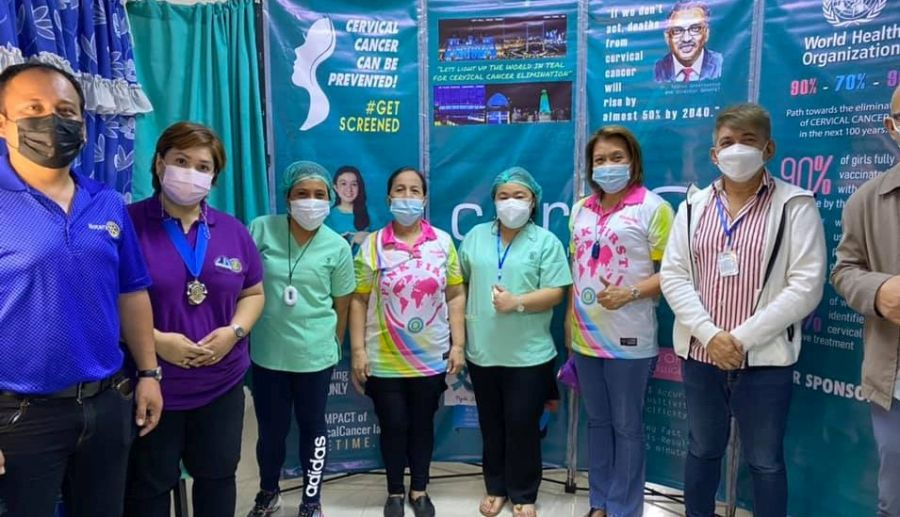 CERVIQ SUPPORTS IWC CENTRAL MAKATI CERVICAL CANCER AWARENESS CAMPAIGN 1